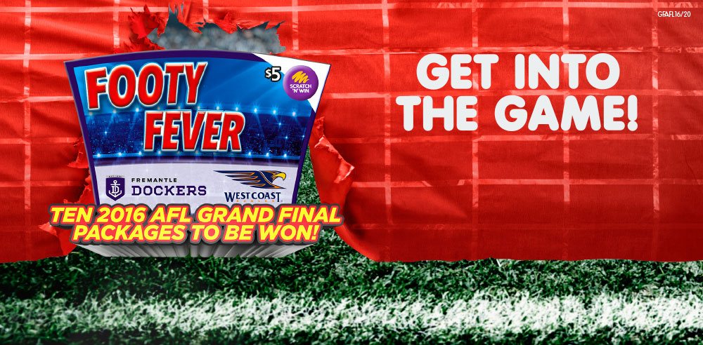 Footy Fever - Get in the game!